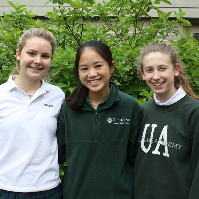 Ursuline Academy recognizes 2018 Christian Leadership Award recipients
