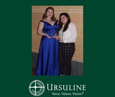 Two Ursuline Students Win Overture Awards