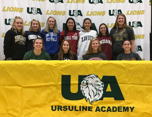 NCAA Signing - 11 UA Athletes