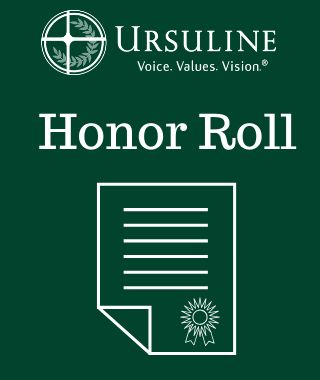 Ursuline Academy Announces First Quarter Honor Roll