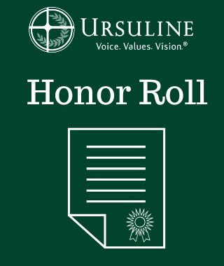 Ursuline Academy Announces Second Quarter Honor Roll
