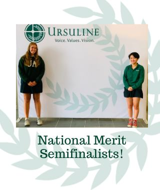 Two Seniors Recognized as National Merit Semifinalists