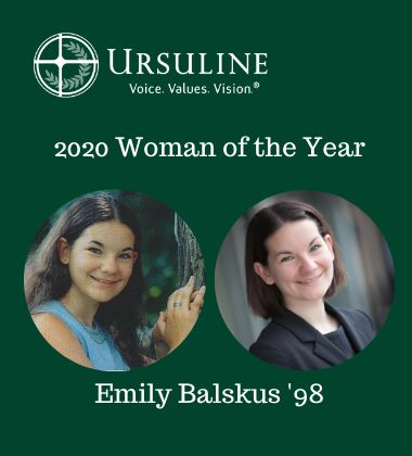 Ursuline Academy Announces 2020 Woman of the Year